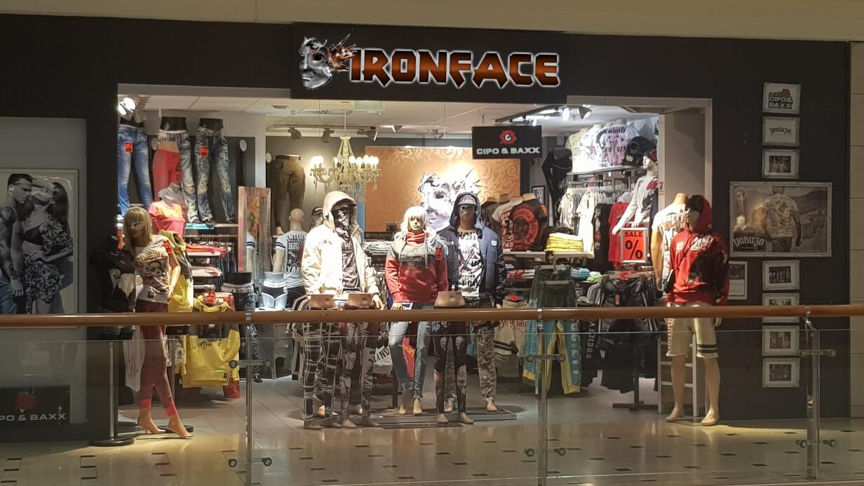 IRONFACE Storefront
